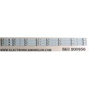 KIT DE LED PARA TV / 4C-LB320T-YHO / 006-P1K3390B / 4C-LB320T-YH0 / TOT_32_3X8_3030C_8S1P / PANEL T8-32B2800-LPM31