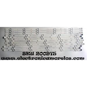 KIT DE LED PARA TV / 65UJ63_UHD_A/B/C/D / 65UJ63_UHD_A / 65UJ63_UHD_B / 65UJ63_UHD_C/ 65UJ63_UHD_D / 17G1B / 17Y 65inch_A-Type_REV0.0_160809 / 17Y 65inch_B-Type_REV0.0_160809 / 17Y 65inch_C-Type_REV0.0_160809 / 17Y 65inch_D-Type_REV0.0_160809