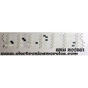 KIT DE LED PARA TV / VIZIO IC-B-VZAA65D761A/IC-B-VZAA65D761B / IC-B-VZAA65D761A / IC-B-VZAA65D761B / 098101003180 / 098101003181 / MODELOS E65-E0 LAUSVKAS / D65-E0 LAUAWDAT / PANEL LSC650FN04-G01
