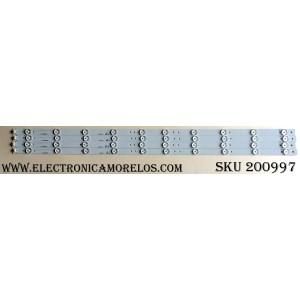 KIT DE LED PARA TV / ELEMENT L.14.164000000(4 PZAS.) / 101914 / PB11D785183BL042-001H / MODELO ELEFW408 A1400
