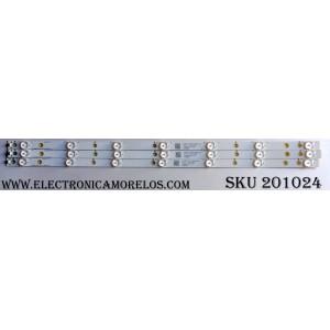KIT DE LED´S PARA TV (3 PIEZAS) / VIZIO 32AMN2 / LB-PF3030-GJVIZI03153X7AMN2-H / L8T48Y612Y00 / 7171 007709 / 210BZ07D04338BCC00X / PANEL ST3151B01-1 VER.2.1 / MODELO D32F-E1 LTT3VMMT