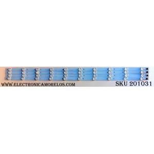 KIT DE LED PARA TV (4 PIEZAS) / SCEPTRE CRH-K403535T041037F / A7M01J56PAA163QK / MODELO X40 SBNV93CD / PANEL LSC400HN02-G02