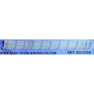KIT DE LED PARA TV (5 PIEZAS) / VIZIO 20150704-Y16 E43 / 20150704-Y16 E43 FHD / 056380220351G / MODELO E43-D2 LWZJUMDS / PANEL LC430DUY(SH)(A1)