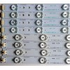 KIT DE LED PARA TV (8 PIEZAS) / ELEMENT R3930 / RF-AL400E32-0601L-01 A1 / RF-AL400E32-0601R-01 A1 / TJ91K6000000 / PANEL T400D3-HA24-DY4 REV:A3 / MODELO ELEFW401A
