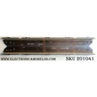 KIT DE LED´S PARA TV (2 PIEZAS) / LG 3660L-0374A 11 / AT0808AD / 42¨ V6 Edge FHD REV1.0 L-Type / 42¨ V6 Edge FHD REV1.0 R-Type / PANEL LC420EUF(SD)(A1)  / MODELO 42LV470S-ZC.AEUYLJG