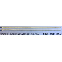 KIT DE LED´S PARA TV (2 PIEZAS) / LG AG1143 / 42¨ V6 Edge FHD-3 REV:1.0 R-Type / 42¨ V6 Edge FHD-3 REV:1.0 L-Type / PANEL LC420EUN(RD)(V1) / MODELO 42LV3520-UJ.CWMYLH
