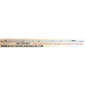 LED PARA TV ((NOTA IMPORTANTE:KIT ((INCOPLETO)) CONSTA DE 2 PIEZAS)) / SAMSUNG_2012SVS60_7032NNB_3D_LEFT88_REV1.3_120629 / PANEL ´S LE600CGS-V1 / CY-LE600CGSW1V / MODELO UN60ES6100FXZA