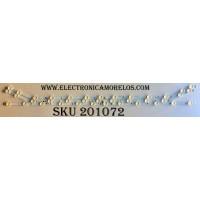 KIT DE LED´S PARA TV (3 PIEZAS) / SAMSUNG BN96-34174A / BN96-34175A / LM41-00090X / LM41-00090Y / SAMSUNG_2014SVS_40_MEGA_3228_13LED_T2_REV1.5_140722 / PANEL CY-HH0408GNV1H / MODELOS UN40H5150AFXZX / HG40ND470BFXZA  / HG40ND477BFXZA  / HG40ND460BFXZA