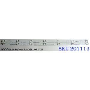 KIT DE LED`S PARA TV (2 PIEZAS) / SHARP HE32SLJSK5736300976G / 1175517 / Hisense_32_HD315DH-E84_2X7_3030C_7S1P_C1 / XY-MC94V-0 / PANEL  HD315K2H81-B1\S0\BBY\GM\ROH / MODELO LC-32LB591U