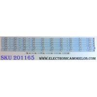 KIT DE LED'S PARA TV AOC (6 PIEZAS) / AOC EMGB23F5C423-F46 / MODELO 32D0330