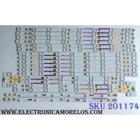 KIT DE LED´S PARA TV (18 PIEZAS) / LB50028 V1_00 / LB50028 V0_00 / LB50028 V7_00 / LB50028 V5_00 / LB50028 V6_00 / LB50028 V4_00 / LB50028 V2_00 / LB50028 V3_00 / PANEL´S TPT500DK-QS1 REV:SC1G / TPT500U1-QVN02.A / MODELOS M50-C1 LTM6SRAR / M50-C1 LTCWSPBR