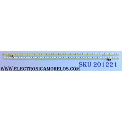 KIT DE LED´S PARA TV (2 PIEZAS) / LG AG1130 / AG1126 / V6 32 INCH HD R-TYPE Rev 0.0 20101104 / V6 32 INCH HD L-TYPE Rev 0.0 20101104  / MODELO 32LV2400-UA.CUSYLH