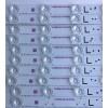 KIT DE LED´S PARA TV (20 PIEZAS) / PANASONIC TB6009J V0_00 / TB6009J V1_00 / CX-60S02E09-2A5Z2-0-B-59F / M30900 / 98.60S02.3L2 / MODELO TC-60CS540C