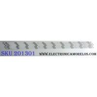 KIT DE LED´S PARA TV (5 PIEZAS) / HISENSE SVH500A63_REV03_10WICOP_UBH+SILK_161228 / SVH500A63_REV03 / F4B105B1 / 1177748 / S0722Q / E320262 / PANEL`S HD500K3U54\S0\GM\ROH / HD500K3U54 / MODELO 50H6D