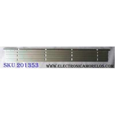 LED PARA TV / HISENSE RSAG7.820.7466\ROH VER.A / HE650K5U51 / PANEL`S HE650K5U51-L1\S0\GM\ROH / HE650K5U51-L1 / MODELO 65H8C
