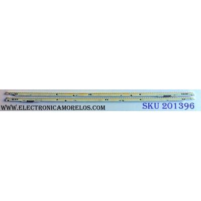 KIT DE LED´S PARA TV (2 PIEZAS) / SAMSUNG SAMSUNG_2012SVS60_7032NNB / 120629 / SAMSUNG_2012SVS60 120629 / E6A337 / EAB337 / M801 D / PANEL CY-LE600DSSW1V / LE600DSS-V1 / MODELOS UN60F7050 / UN60ES7100 / UN60F7100 / UN60ES7150 / UN60ES7500 / UN60ES8000