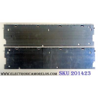 KIT DE LED´S PARA TV (2 PIEZAS) / SONY 4-580-374-01 CH#1 160530D / 4-580-376-01 CH#1 180706D / 4-580-442- GA#1 160806D / SFG 55 L2093031A P-MOD 55 / PANEL`S YD6S550STD / LSY550FW01 / MODELO XBR-55X930D