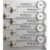 KIT DE LED´S PARA TV (8 PIEZAS) / TOSHIBA SVK550AC1 / 3781-2C / SVK550AC1_WICOP_Rev04_5LED_20161212 / J0308T / K1EZ1 / A108E3 / K1EZ1A108E3 / E78030 / PANEL K550WDRB / MODELOS 55LF621U19 / 55LF621U19 Rev.A