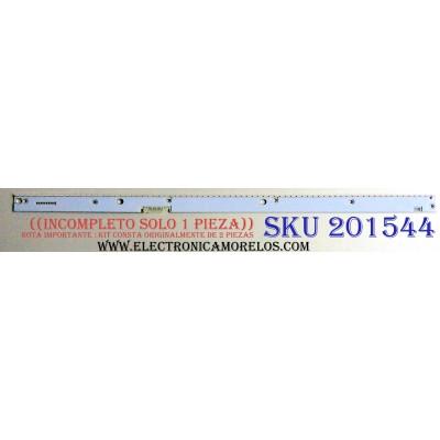 KIT DE LED´S PARA TV ((INCOMPLETO SOLO 1 PIEZAS)) / SAMSUNG SAMSUNG 39352B / 39353B / 30794S / 30490S / PANEL CY-XK055FLLV5H / MODELOS UN55KS9500FXZA FA01 / UN55KS9500FXZA
