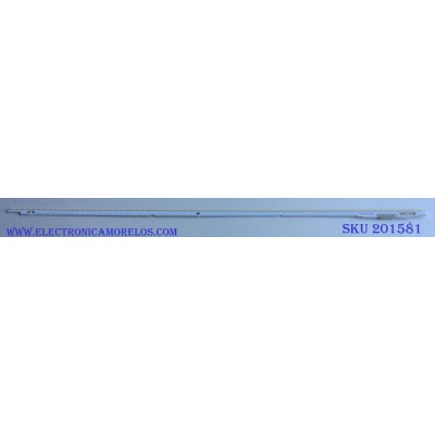 KIT DE LED´S PARA TV ((INCOMPLETO SOLO 1 PIEZAS)) / SAMSUNG LTJ550HW08-V / MODELO LH55MECPLGA / ZA / UN55ES6500FXZA TS01 / UN55ES6550FXZA / UN55ES6580FXZA / UN55ES6600FXZA / UN55ES6820FXZA / UN55ES6900FXZA / LH55MECPGGC / ZA
