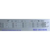 KIT DE LED´S PARA TV / SONY ((INCOMPLETO SOLO 4 PIEZAS)) SYV4942 / LC490EQY-SHM2 / SUY490A23_Rev00_5LED_R_150223 / SVY490A23_Rev00_5LED_R_150223 / SUY490A23_Rev00_5LED_L_150223 / SVY490A23_Rev00_5LED_L_150223 / MODELO XBR-49X800C