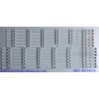 "KIT DE LED´S PARA TV ((INCOMPLETO SOLO 13 PIEZAS)) / LG // LG INNOTEK POLA2.0 55""L TYPE REV 0.1 / LG INNOTEK POLA2.0 55""R TYPE REV 0.1 / 12C1 / PANEL LA62M55T120V12 / MODELO 55LA6200"