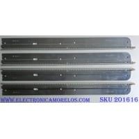 KIT DE LED´S PARA TV ( 4 PIEZAS) PANASONIC LG INNOTEK 37 INCH REV 0.5 54EA B TYPE-1 / LG INNOTEK 37 INCH REV 0.5 54EA B TYPE-2 / 3660L-0351A 1-1 / 3660L-0345A 1-1 / AG0939 / AG0940 / PANEL LC370EUH (SC)(AY) / MODELO TC-L37D2
