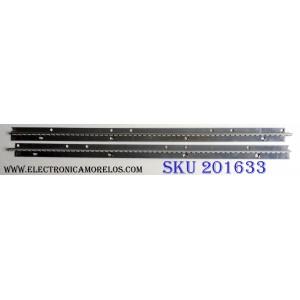 """KIT DE LED'S PARA TV (2 PIEZAS) / WESTINGHOUSE WDE46"""" (LEFT) REV:B 14554P LED:UNI5730 / WDE46"""" (RIGHT) REV:B 14554P LED:UNI5730 / PANEL HV460WU2-200 / MODELO LD-4695 TW-69601-U046B"""