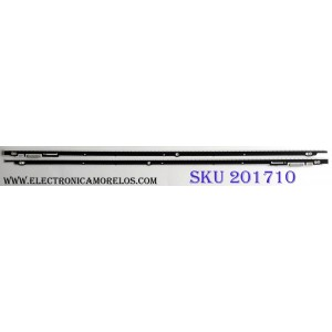 KIT DE LED'S PARA TV (2 PIEZAS) / SAMSUNG 2012SVS55 7032SNB LEFT80 REV1.1 / M725D / E5N424 / 000350 / PANEL LTJ550HQ32-V / MODELO UN55ES7003FXZA