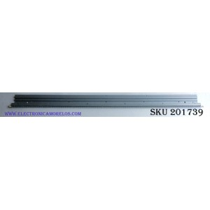 LED PARA TV / LG 6922L-0150A / 6916L2315A / PANEL LC490EUE (FH)(M3) LG / MODELO 49LX340H