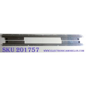 KIT DE LED'S PARA TV (2 PIEZAS) / SAMSUNG LJ64-02230A / D000703A0 / SLED SLS46_5630N LCD 120 REV1.0 100113 GA / PANEL  LTA460HJ06 / MODELO  46PFL7705DV/F7