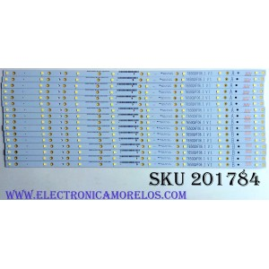 KIT DE LED'S PARA TV (16 PIEZAS) / T650QVF06.1 V1 / E88441 / ZE65T400023C7 / PANEL T650QVF06 / MODELO P65-C1