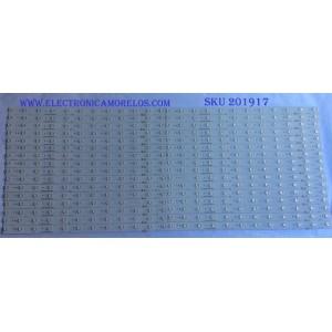 "KIT DE LED'S PARA TV (32 PIEZAS) / HISENSE / 1161032 / N93Z66-B1 / HISENSE_70_HD700IU-B41(110)_32X12_3030CN_V1 / PANEL HD700IU-B41(110)\XP\S1\GM\ROH / MODELO 70"""