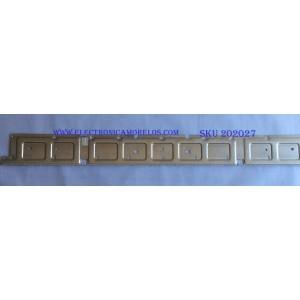 LED PARA TV (1 PIEZA) / SAMSUNG / BN96-45913A / BN61-15485A / LM41-00613A / PANEL'S CY-NN055HGLVDH / CY-NN055HGLVCH / CY-CN055HGLV2H / MODELOS UN55NU7300F / UN55NU6950F / UN55NU6900B / ((1.21M X 12CM))