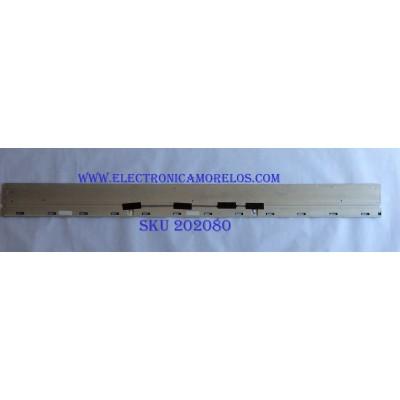 LED PARA TV (1 PIEZA) / SONY / STO650A57_66LED_R_REV03_161114 / 056380310061R701 / D1726B4726C57 / PANEL V650QWME06 / MODELO XBR-65X850E / 1.44M X 13CM /