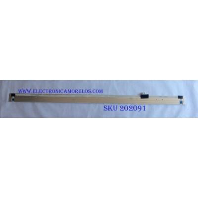 LED PARA TV (1 PIEZA) / SONY / LB55038 / 74.55T26.001-0-FC1 / 69.55T26.F03 / 69.55T26.F04 / PANEL T550HVF06.0 / MODELO KDL-55W800C / 1.20 M X 7 CM /