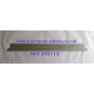 LED PARA TV (1 PIEZA) / LG / 6922L-0218A / PANEL LC550EQH(DK)(M1) / MODELO 55SJ8500-UB / 1.20M X 12CM /