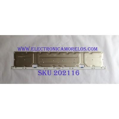 LED PARA TV (1 PIEZA) / SAMSUNG / BN96-45956A / BN61-15537A / PANEL CY-SN049HLLV5H / MODELO UN49NU8000 / UA49NU8000JXZK / (MAS MODELOS DE DISCRIPCIÓN) / 1.06 M X 20CM /