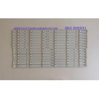 KIT DE LED'S PARA TV (14 PIEZAS) / VIZIO / 50.0-D712-L-S2 / 50.0-D712-R-S2 / EBHHC45F7CA12 / PANEL TPT500J1 -HVN04 REV:S16SC TPV / MODELO E500I-A1