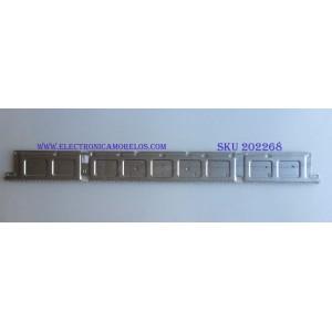 LED PARA TV (1 PIEZA) / SAMSUNG / LM41-00613A / BN61-15485A / PANEL CY-NN055HGHV2H / MODELO UN55NU7200F / 1.21 M X 12 CM /