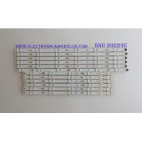KIT DE LED'S PARA TV (12 PIEZAS) / SAMSUNG / BN96-34793A / BN96-34794A / S_5U75_48_FL_R6_REV1.3_150310 LM41-00121G / PANEL CY-GJ048HGLVCH / MODELOS UN48JU6000GXZS / UE48JU6000KXXU / (MAS MODELOS EN DISCRIPCIÓN)