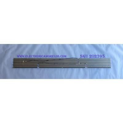 LED PARA TV (1 PIEZA) / HISENSE / HE550HF-B51 / RSAG7.820.5707 / PANEL HE550HF-B51 / MODELO 55K600GWUS / 1.22 M X 13 CM /