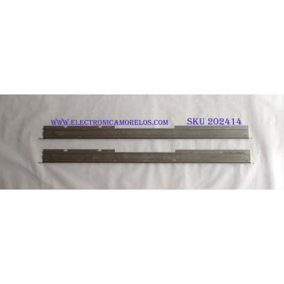 KIT DE LED´S PARA TV ( 2 PIEZAS ) / SHARP / GA0342 / PANEL LK520D3GW8BV / MODELO LC-52LE830U