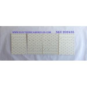 KIT DE LED'S PARA TV (10 PIEZAS) (KIT COMPLETO) / SAMSUNG / BN97-14248A / SD2CB / PANEL CY-TN055FLAV2H / MODELO QN55Q8FNBF