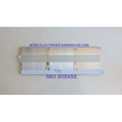 LED PARA TV ( 1 PIEZA ) / SAMSUNG / BN96-42402A / PANEL CY-QM055FLAV2H / MODELO QN55Q7FAMFXZA / NOTA IMPORTANTE : KIT CUENTA ORIGINALMENTE 2 PIEZAS ((INCOMPLETO 1 PIEZAS)) / 60 CM X 20 CM /