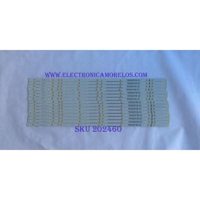 KIT DE LED'S PARA TV / VIZIO / T650QVF06.121 / LB65053 / PANEL T650QVF06 / MODELO P65-E1