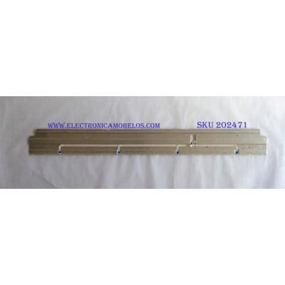 LED PARA TV ( 1 PIEZA ) / HISENSE / CS-MCPCB-150  / HISENSE_55_5555_2X72_4014C_9S4P2 / LT-1187231 / PANEL HE550S5U52-B2K1\FJ\S3\GM\ROH / MODELO 55H9100E / 1.20 M X 13 CM /