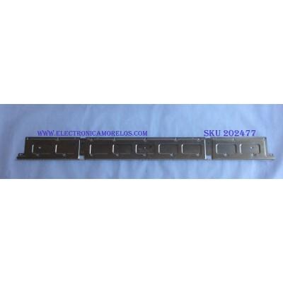 LED PARA TV ( 1 PIEZA ) / SAMSUNG / BN96-46866A / LM41-00632A / MODELO UN58RU710DFXZA / MAS MODELOS EN DESCRIPCION / 1.26 M X 12 CM /