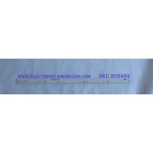 LED PARA TV ( 1 PIEZA ) / SAMSUNG / BN96-39375A / BN96-39376A / 39375A / 39376A / PANEL CY-QK055FLAV3H / MODELO UN55KS8000FXZA / UN55KS800DFXZA / UN55KS8500FXZA  / NOTA IMPORTANTE : KIT CUENTA ORIGINALMENTE 2 PIEZAS ((INCOMPLETO 1 PIEZA)) / 60 CM /