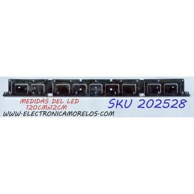 LED PARA TV / SAMSUNG BN96-45913A / BN61-15485A / AOT_55_NU7300_NU7100_2X40_3030C_d6t_2d1_20S2P REV.5 / 01809102 / 031S4B 16 / 031S4B 08 / PANEL CY-NN055HGLV6H / MODELOS UN55NU7090 / UA55NU7470 / LH55QBNEB / HG55NJ670 / MAS MODELOS CHECAR EN DESCRIPCION